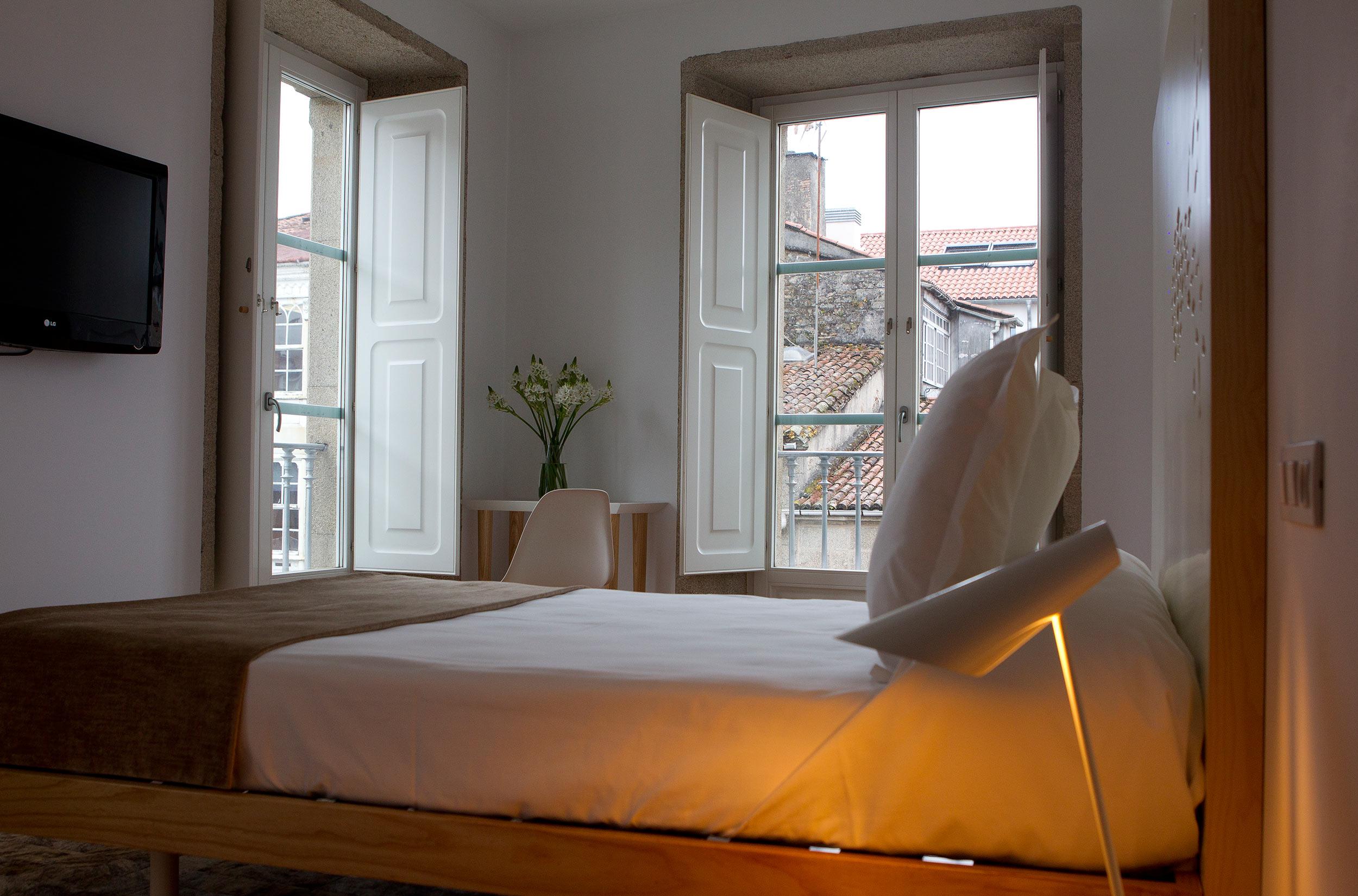Habitación estándar con balcón